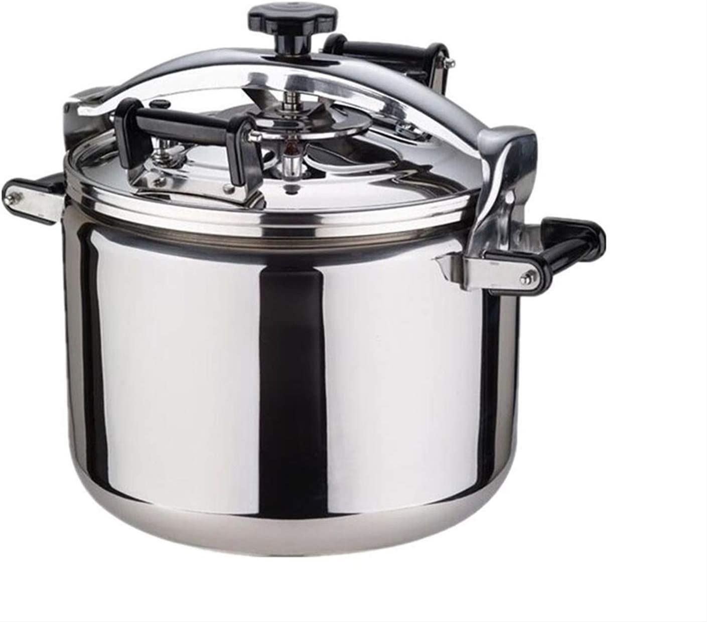 ZBINGAFF Pressure Cooker, 304 Stainless Steel Pressure Cooker, Thick Explosion-Proof Pressure Cooker, Large Capacity Pressure Cooker, Suitable for School Restaurant Small Food Stalls 22L, 30L, 40L
