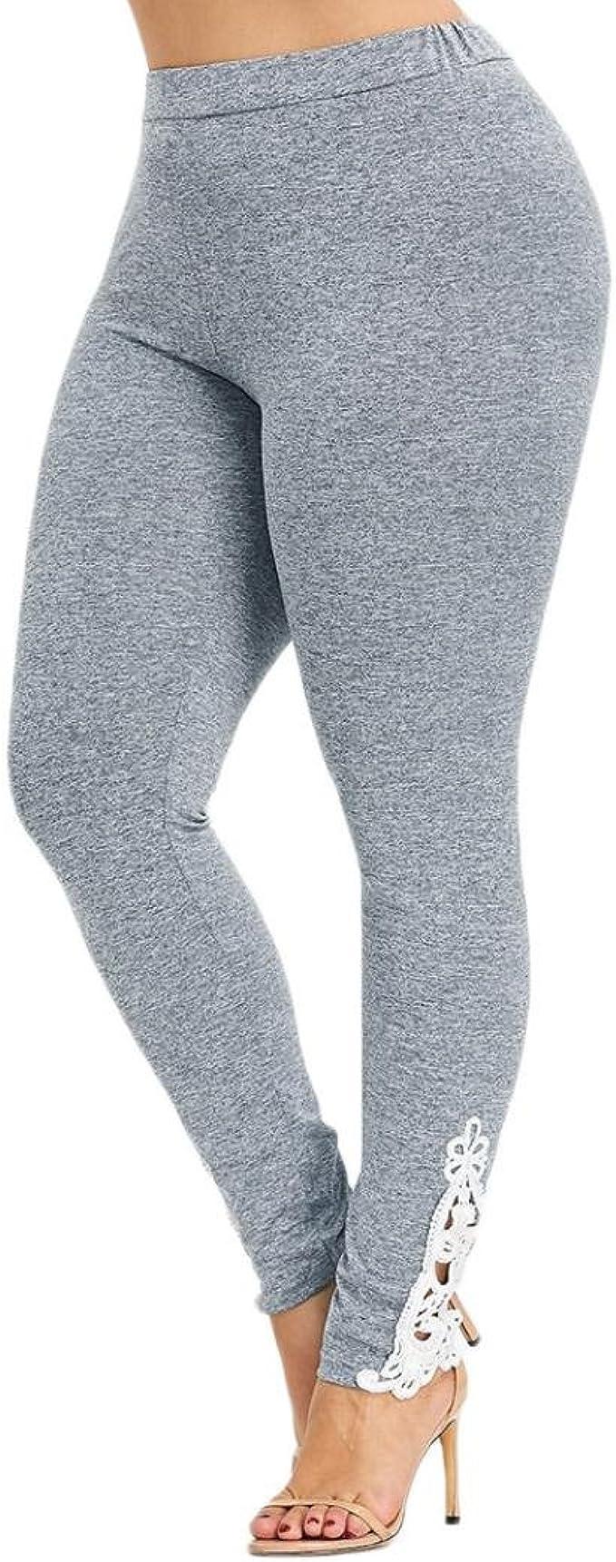 FAMILIZO_Leggings Mujer Talla Grande Leggings Mujer Yoga ...