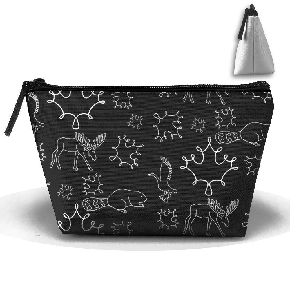 durable service ZGWS Loopy Animals Toiletry Bag Makeup Organizer Cosmetic  Bag Portable Travel Kit Organizer Household Storage Pack Bathroom Storage  With ... 490606eea94e7