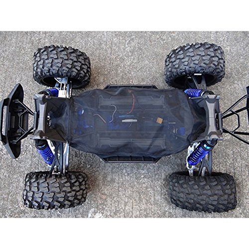 Hot Racing XMX16C02 Dirt Guard Chassis Cover - Traxxas (Chassis Cover)