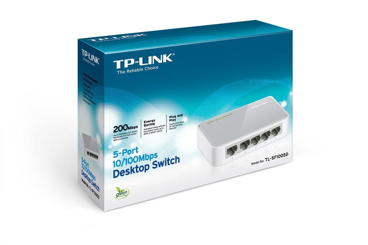 Resultado de imagen para Switch TL-SF 100 5 D caja