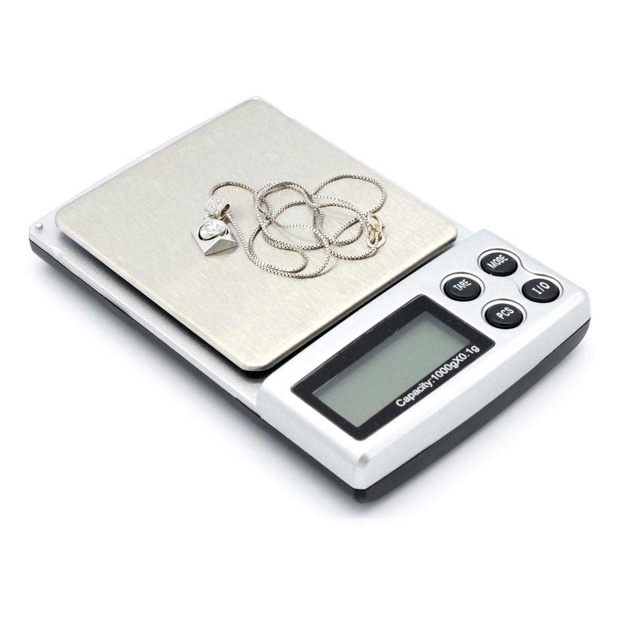 USUN Il y a un mini petite échelle balance numérique de poche cuisson de la cuisine pesant 0,1 Ge -1
