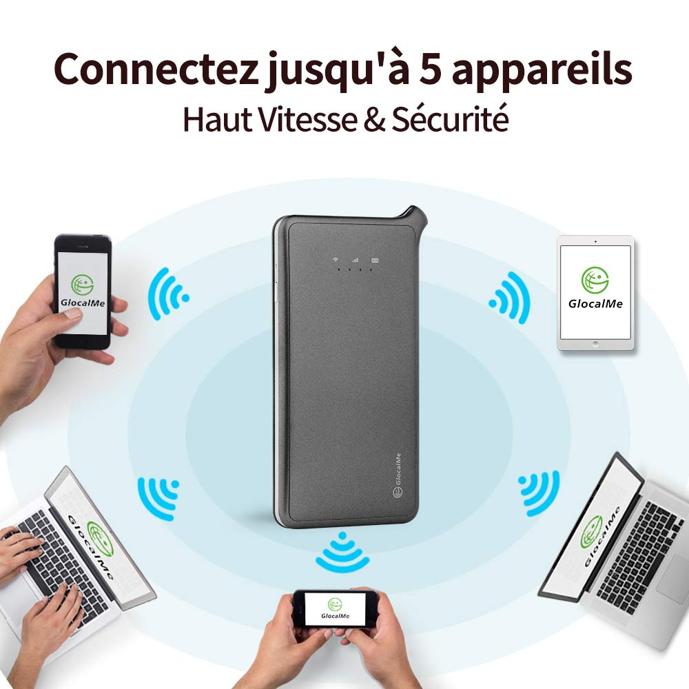 Pads Coverage in Over 100 Countries Featuring Free Roaming SIM Free Laptops and More Gold GlocalMe U2 4G Mobile Hotspot Global Wi-Fi with 1GB Global Initial Data Compatible with Smartphones