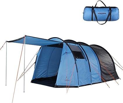 Fridani TXB 400 tenda tunnel per 4 persone con anticamera, 3000mm, 350x240x175 cm, 9 kg, tende familiari