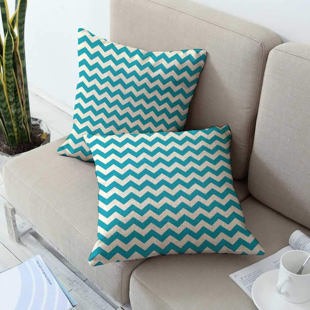 Amazon.com: Acelik Seafoam Pillowcase Abstract Geometric ...