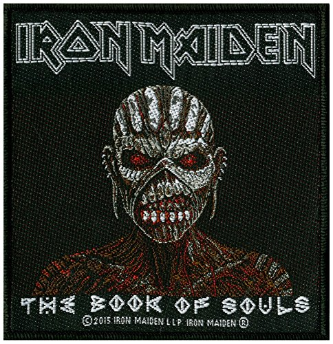 (Iron Maiden The Book Of Souls Patch Album Art Heavy Metal Woven Sew On Applique)