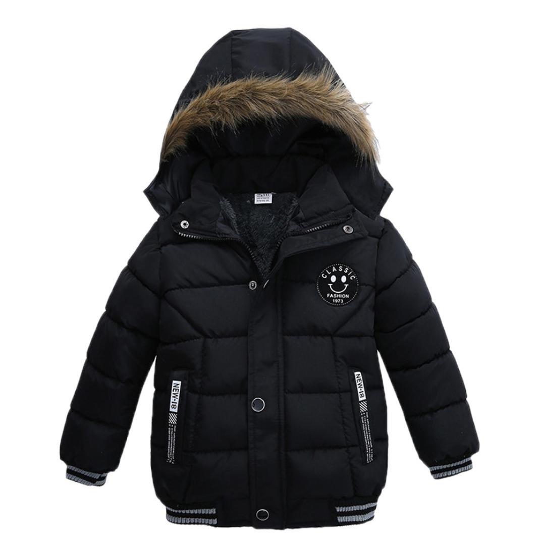 Odejoy Inverno Caldo Neonato Inverno del dei Capretti delle Ragazze dei Ragazzi Incappucciati Cappotto Floreale Giacca Outwear buona qualità Winter Boys Hooded Warm Coat Jacket