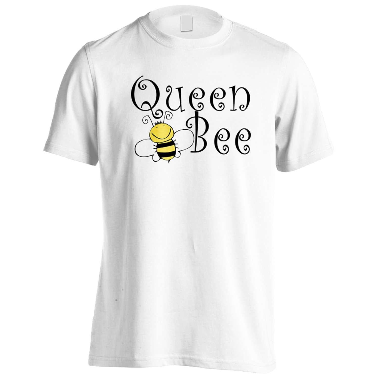 Queen Bee Yellow / Black Funny Novelty Men's T-Shirt Tee bb10m