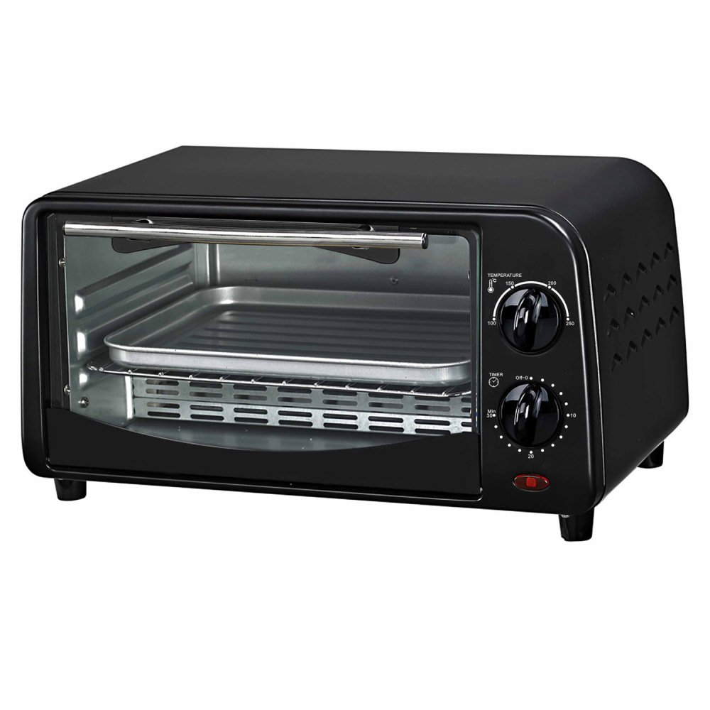 Kangzilang 4-Slice Toaster Oven, KZL-EOV-0901 Black by HLM
