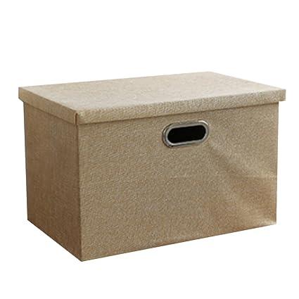 Cajas decorativas, xshion 3-Tier cajón tipo escritorio organizador caja de almacenaje con tapa