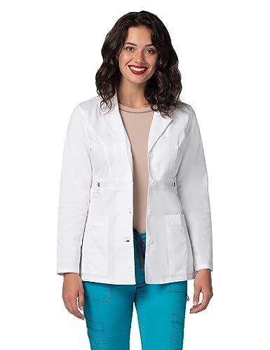 Bata Médica de Laboratorio Para Mujeres, Doctoras y Científicos - 3300 Color WHT | Talla: M: Amazon.es: Ropa y accesorios