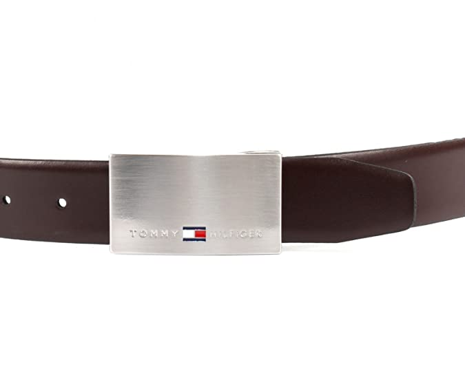 TOMMY HILFIGER Double Buckle Gift Box 3.5 ADJ Reversible W80 Black   Testa  di Moro  Amazon.co.uk  Shoes   Bags 0ddba0fc36