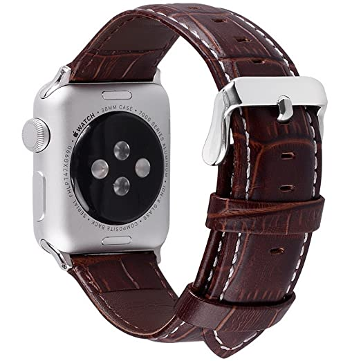 7 opinioni per 5 colori per Cinturino Apple Watch 42mm,Fullmosa®Bosin iWatch Cinturino Apple