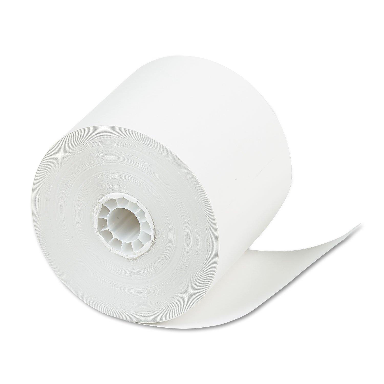 PM Company 09661 Credit/Debit Card Machine Paper Rolls,2-5/16''x200',24/CT,WE