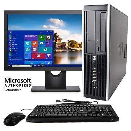 HP Elite Desktop Computer, Intel Core i5 3 2 GHz, 8 GB RAM, 500 GB HDD,  Keyboard & Mouse, Wi-Fi, 19