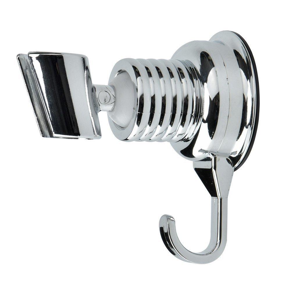 yulakes verstellbar ohne bohren saugnapf brausehalter duschkopfhalterung ebay. Black Bedroom Furniture Sets. Home Design Ideas