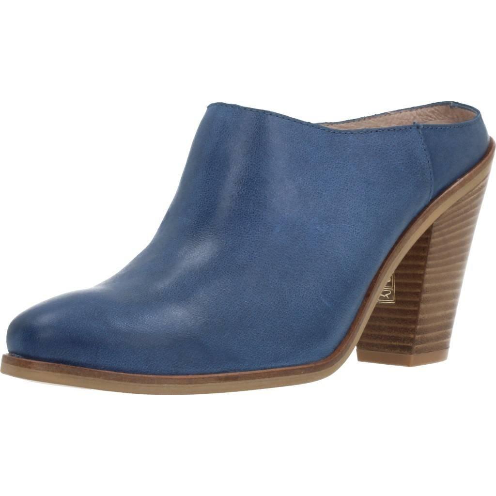 Zuecos para Mujer, Color Azul, Marca Wonders, Modelo Zuecos para Mujer Wonders 69492 Azul 36 EU|Azul
