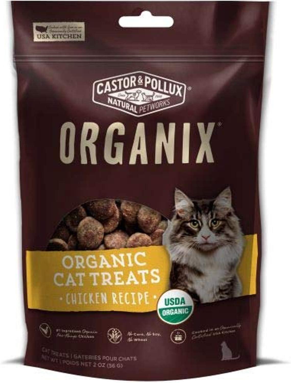 Castor & Pollux Organix Organic Cat Treats