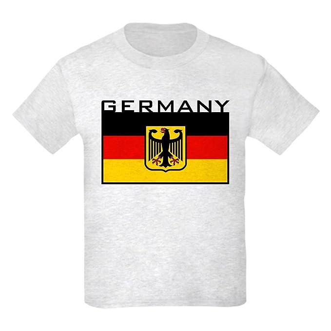 Amazon.com: CafePress – Bandera de Alemania – Kids playera ...