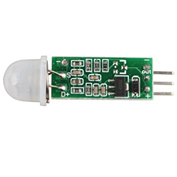 haljia HC-SR505 Mini por infrarrojos PIR Motion Sensor módulo de Detector de infrarrojos de