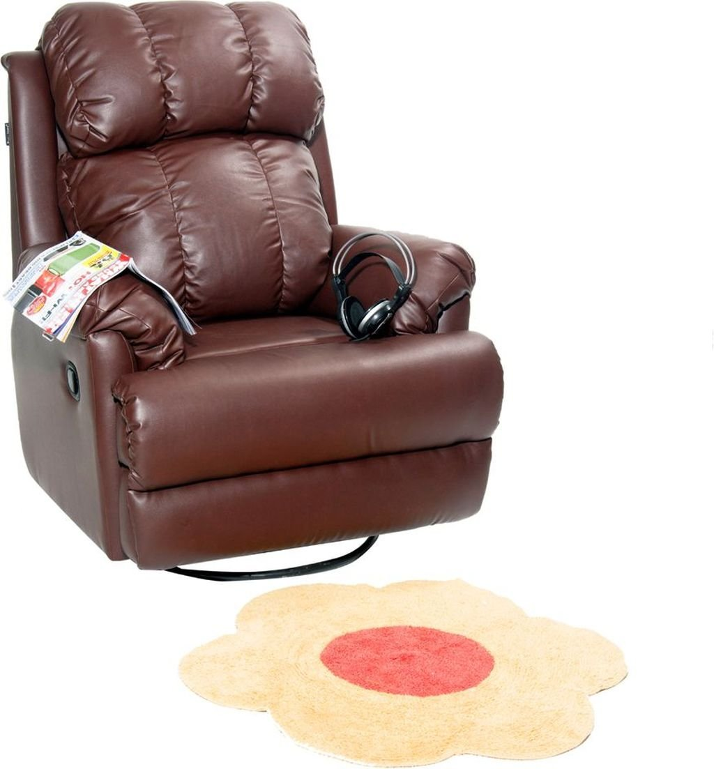 Recliners India Single Seater Manual Swivel Glider Recliner (Matt Finish,  Two Tone Tan): Amazon.in: Home U0026 Kitchen