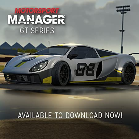 Motorsport Manager GT Series DLC [Online Game Code]