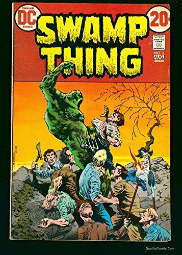 Swamp Thing #5 FN- 5.5
