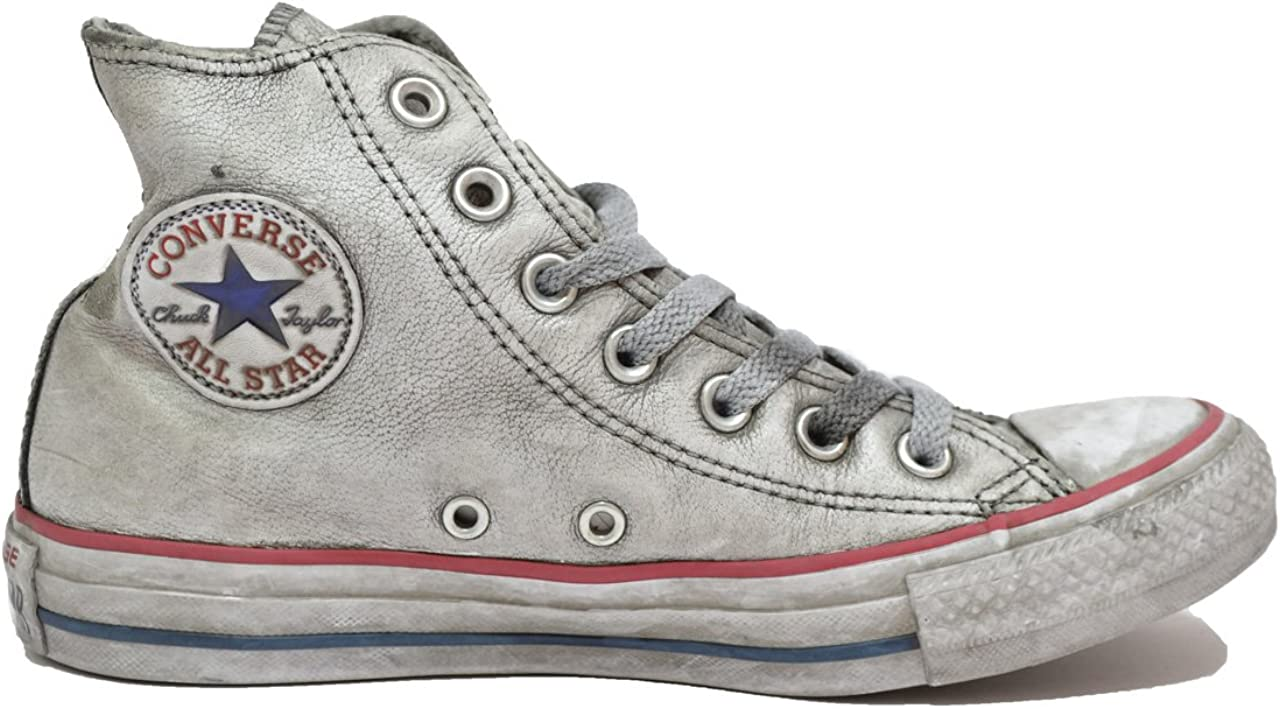 Converse - All Star Limited Edition - cuir blanc, homme ...