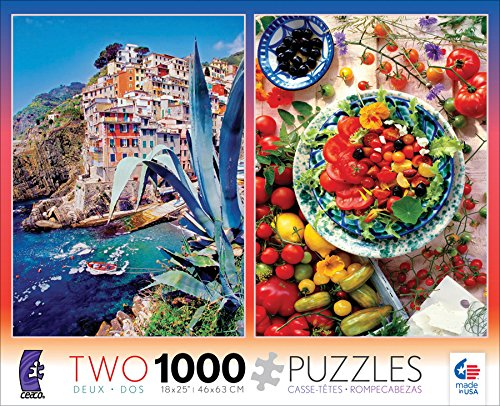 2 in 1 Multipack Photography 3208-1 Ceaco Two 1000 Pcs Jigsaw Puzzles