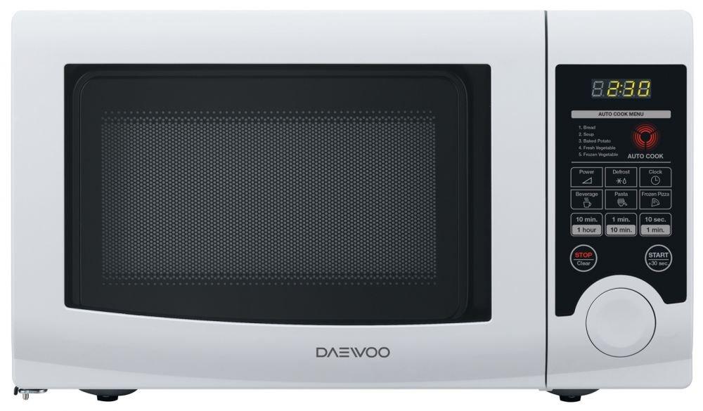 Daewoo KOR-6L3B - Microondas (Encimera, Solo microondas, 20 ...
