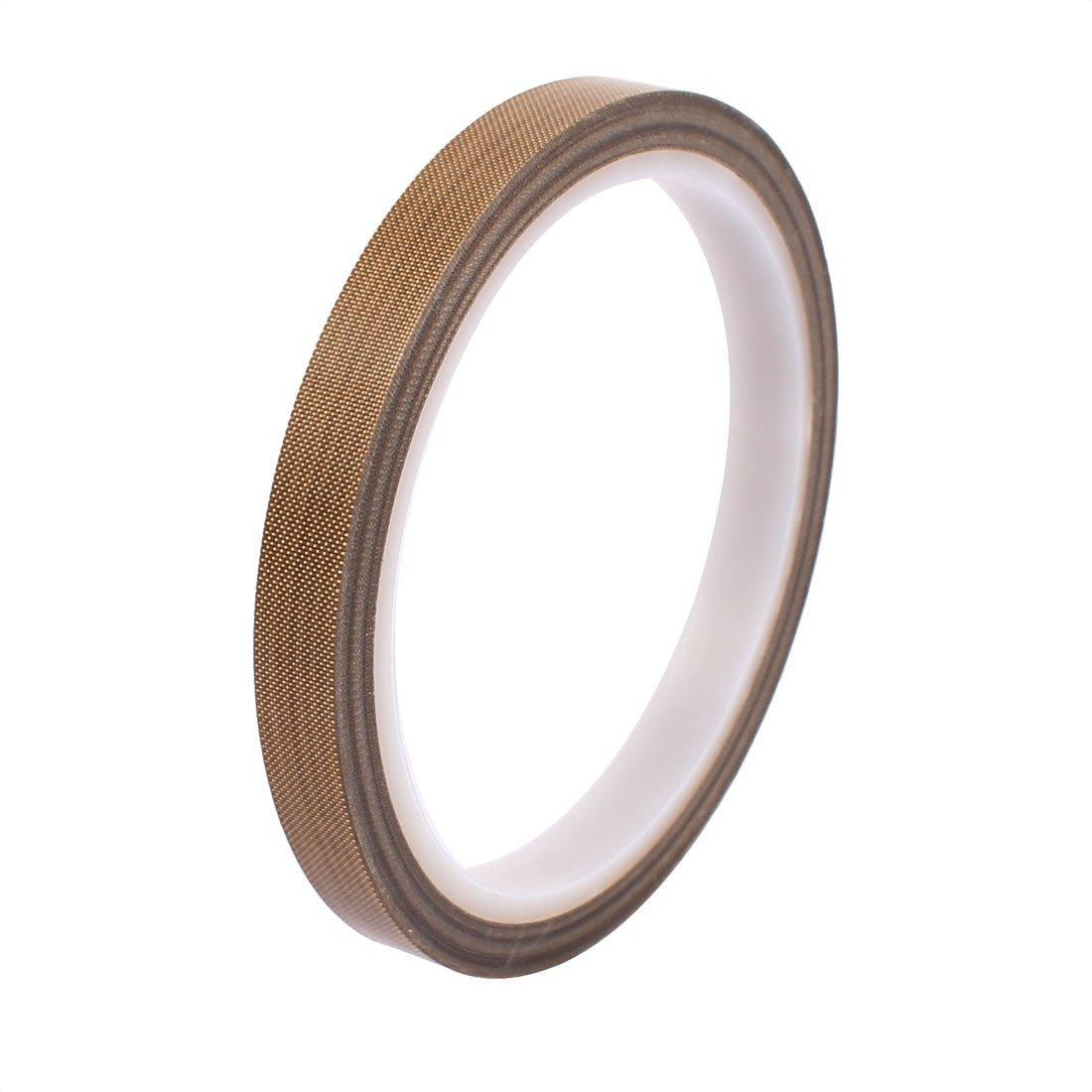eDealMax 2 Pcs 0, 13 x Cinta de 10 mm de PTFE de alta temperatura cinta resistente cinta no adhesiva - - Amazon.com