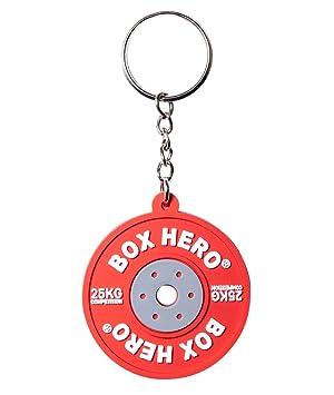 Caja Hero llavero mini Competition Bumper de Plate de pesas ...