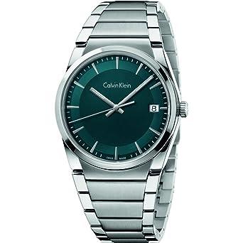 Calvin Klein Reloj Analógico para Hombre de Cuarzo con Correa en Acero Inoxidable K6K3114L: Amazon.es: Relojes