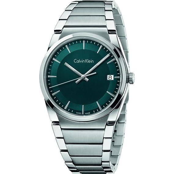 Calvin Klein Reloj Analogico para Hombre de Cuarzo con Correa en Acero Inoxidable K6K3114L
