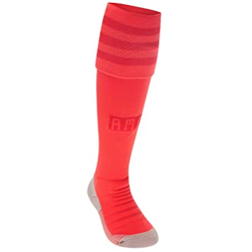 adidas 2018-2019 Real Madrid Third Socks (Red): Amazon.es: Deportes y aire libre