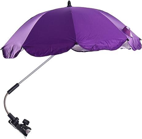 Parapluie universel pour poussette avec bras pivotant