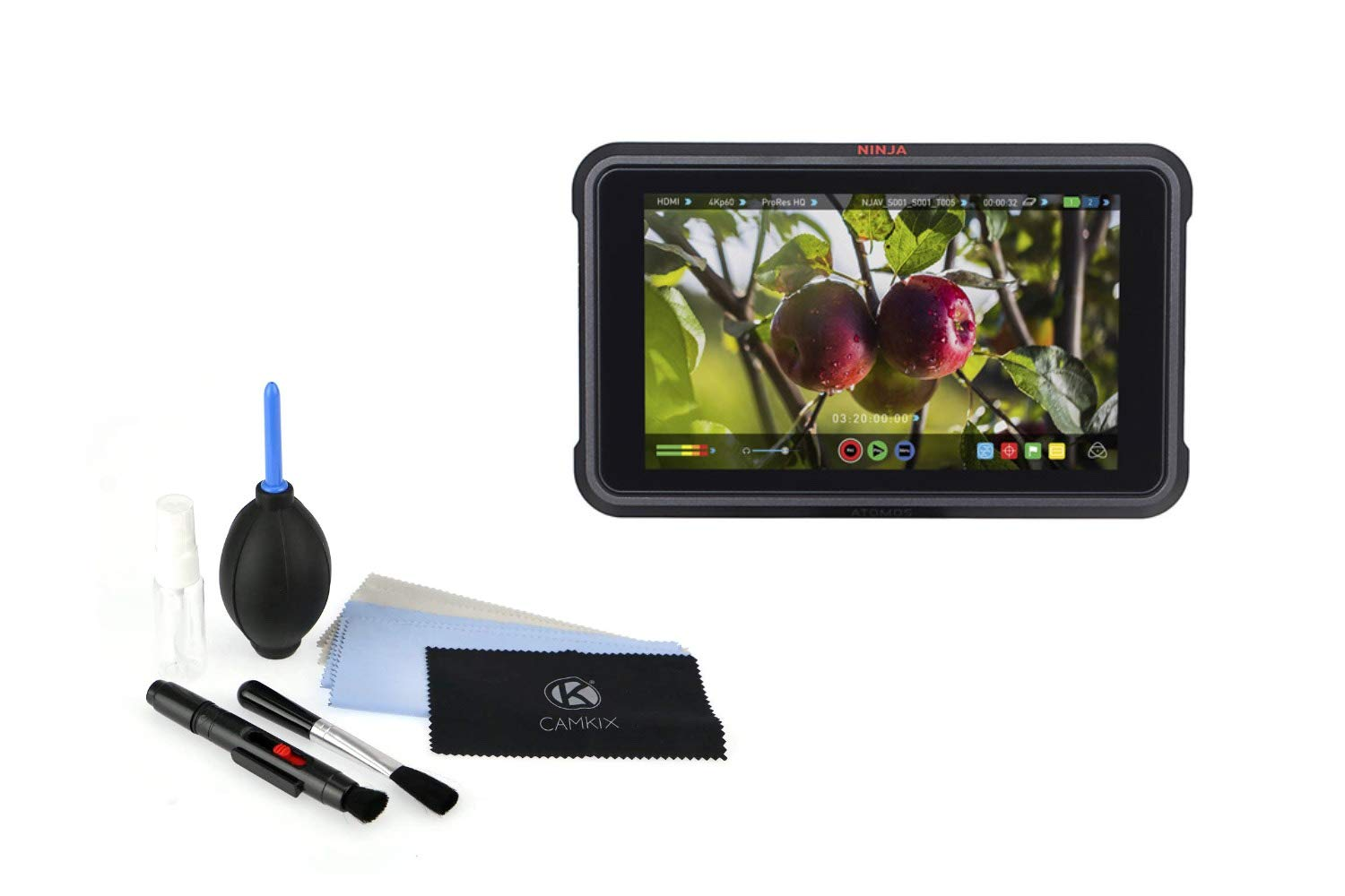 Amazon.com : Atomos Ninja V with Cleaning Kit : Camera & Photo