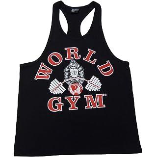 4cf002d806bf3 Amazon.com  PH310 Powerhouse Gym Workout-cut Men s Tank Tops  Clothing
