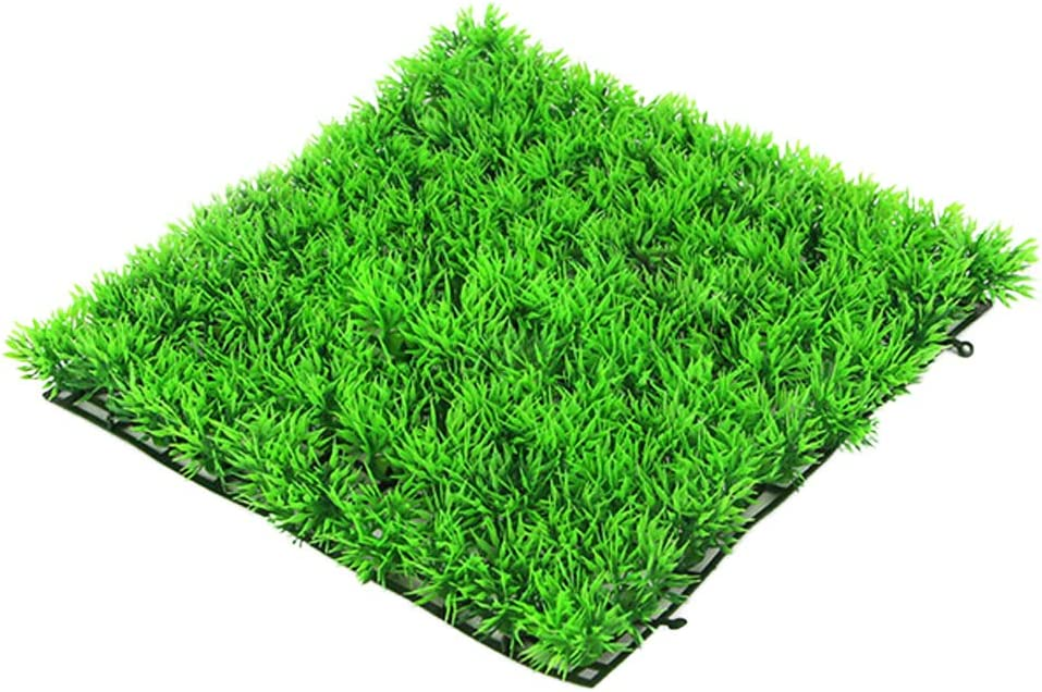 OPSLEA Tapis de d/écoration dherbe Artificielle de Gazon Artificiel de pelouse Artificielle de Gazon dherbe carr/ée Verte
