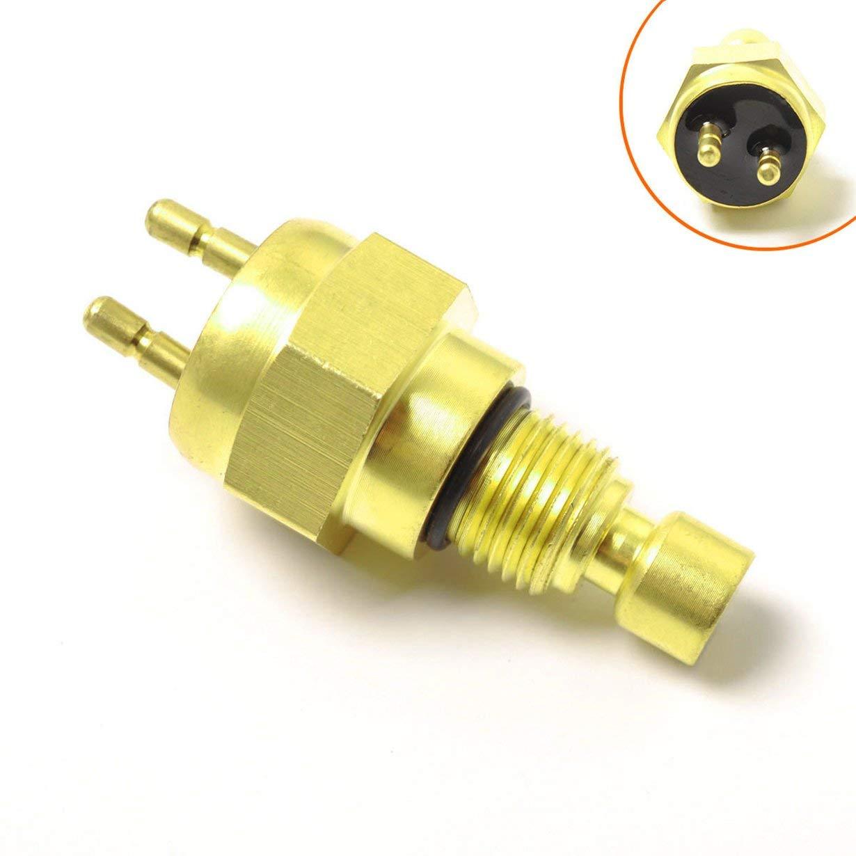 Comomingo Interrupteur de capteur de chaleur thermique pour moto 27010-1202 1989-2000 KSF250A pour Kawasaki pour Mojave 250