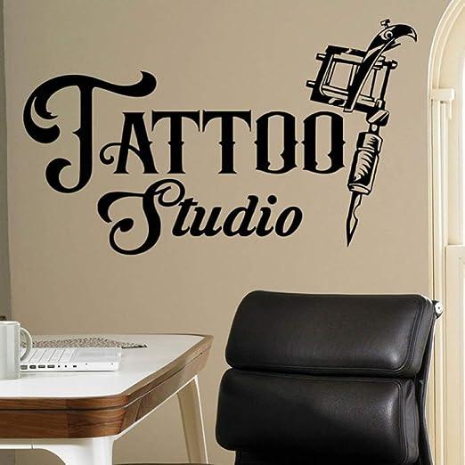 caowenhao Tattoo Studio Logo Tatuajes de Pared Logotipo de Empresa ...
