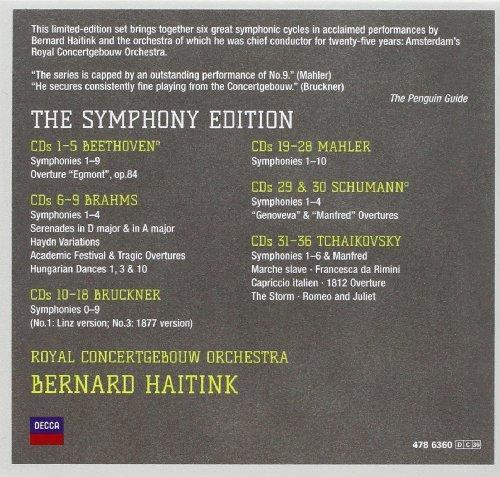 Bernard haitink: the symphony edition bernard haitink | user.