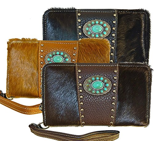 trinity-ranch-soft-hair-on-hide-leather-front-wristlet-walletblack