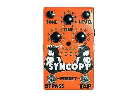 Stone Deaf Syncopy · Pedal guitarra eléctrica: Amazon.es ...
