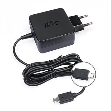 KFD 33W Adaptador Cargador Portátil para ASUS EeeBook X205 ADP-33AW C X205T X205TA E205SA F205TA E202SA X205TA-DH01, ASUS VivoBook E200HA Transformer ...