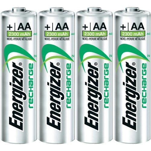 Pack of 8 Energizer 2300mAh AA NiMH Rechargeable Battery - Bulk Pack