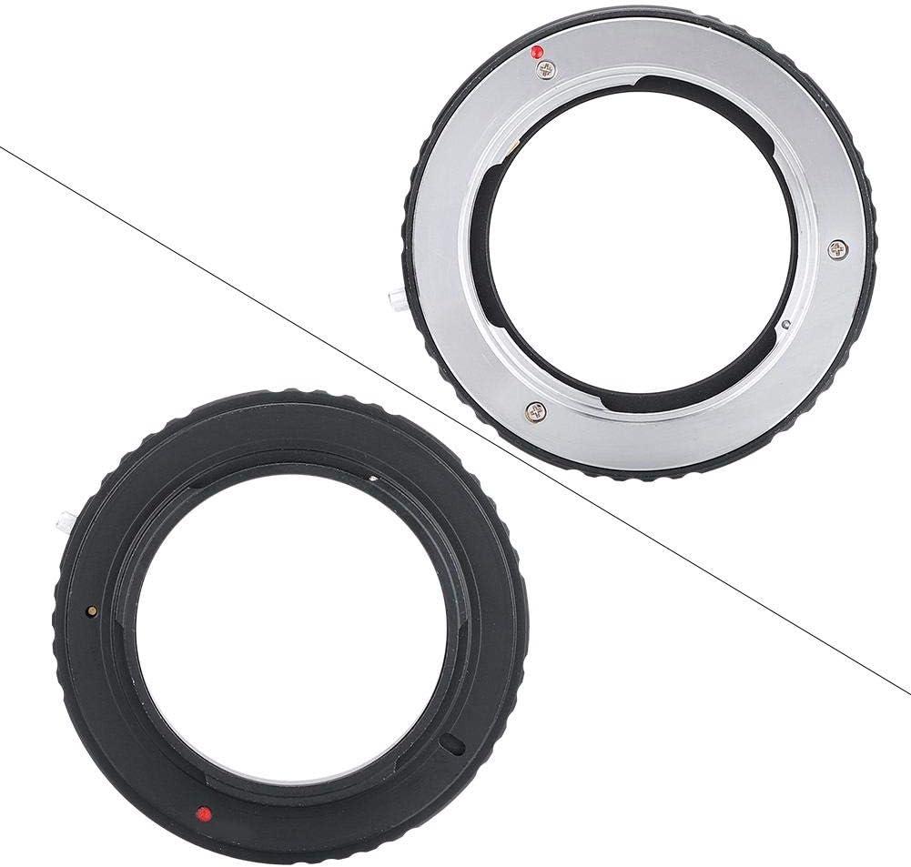 filettatura precisa per un collegamento sicuro t adattatore MD-AI in lega di alluminio resistente per obiettivo con attacco MD Minolta per fotocamera con attacco AI Nikon Convertitore per fotocamera