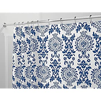 Amazon Com Victoria Park Toile Bathroom Shower Curtain