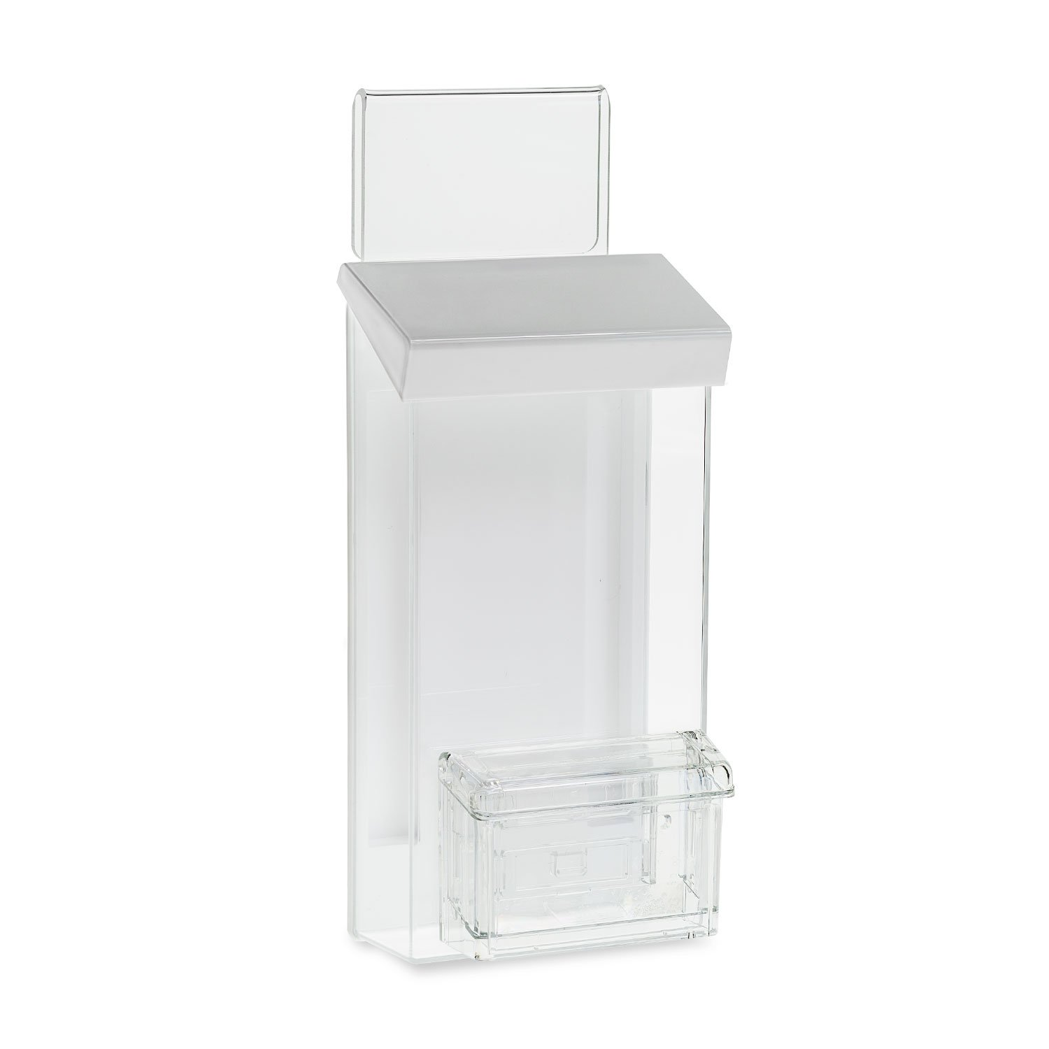 Source One Auto Window Brochure Holder/Business Card Holder (S1-TRI-BC-Hook)