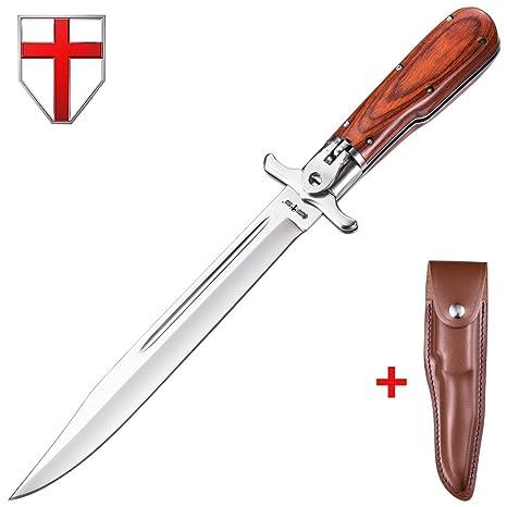 Amazon.com: Cuchillo de resorte asistido – Cuchillo plegable ...